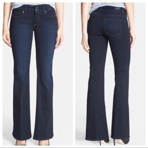 PAIGE Bootcut Hidden Hills Size 31 Dark Wash Jeans